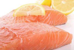 pavés de saumon frais