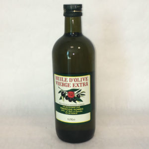 bouteille huile d'olvie vierge Extra Huilerie Roméo